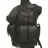 Airsoft Tactical Hunting Combat Vest Black