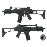 WE G39C Gas Blow Back GBB Airsoft Rifle (Black)