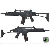 WE G39K Gas Blow Back GBB Airsoft Rifle (Black)