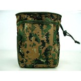 Molle Small Magazine Tool Drop Pouch Digital Camo Woodland
