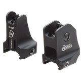 Daniel Defense Front and Rear Metal Sights Airsoft