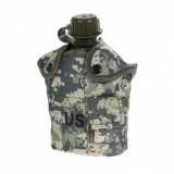1Qt Canteen Water Bottle w/Pouch & Cup Digital ACU Camo