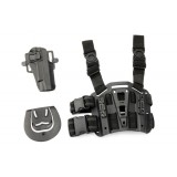 CQC Beretta 92/96 Pistol Paddle & Belt Drop Leg Holster