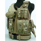 Airsoft Tactical Hunting Combat Vest Multi Camo