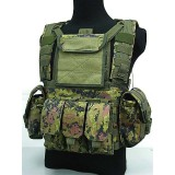 Airsoft Molle Canteen Hydration Combat RRV Vest CADPAT Camo