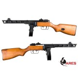 ARES PPSh Electric Blowback, Real Wood Stock, AEG Rifle