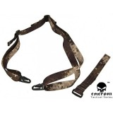 Big Dragon P90 Rifle Sling A-TACS Camo