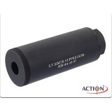 ACTION 80mm S.T. Simth Silencer (Black, 14mm CCW)