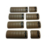 Knight KAC RAS Rail 8pcs Covers Tan
