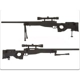 WELL G96D AW .338 Sniper Rifle BK