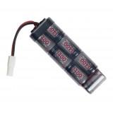 Battery, 8,4v 1400mAh, mini-U, NiMH ASG