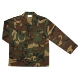 Kids jacket, woodland camo
