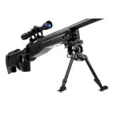 SNIPER RIFLE AGM002 - BK with scope and bipod