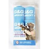 G&G Team Armband 6 Pack - Blue