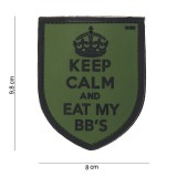 PATCH 3D PVC KEEP CALM
