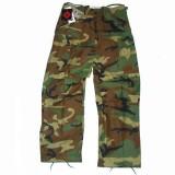 BDU - NYCO M65 Combat trousers - Woodland Camouflage - Heavy Duty XXXL