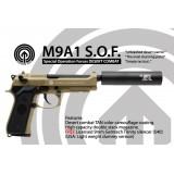 Socom Gear M9A1 SOF Desert Combat Silencer
