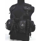 US Navy Seal CQB LBV Modular Assault Vest Black