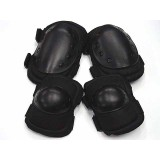 Tactical Knee & Elbow Pads Black