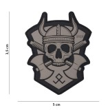 PATCH 3D PVC VIKING WITH HATCHET